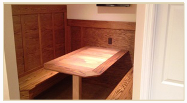 custom woodworking and construction